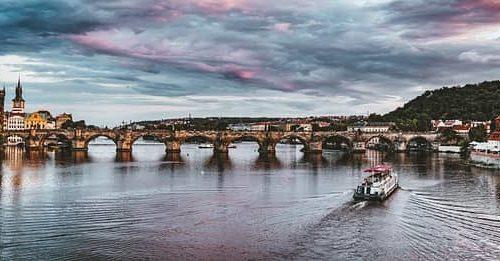 Praha nabízí nádherná místa i pro lidi, kteří ji jezdí navštěvovat relativně často